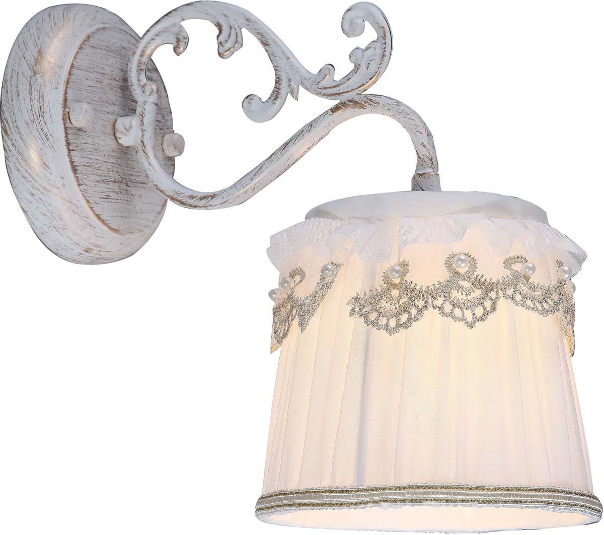 Бра Arte Lamp Merletto, 1 х E14, 40 W. A5709AP-1WGA5709AP-1WG