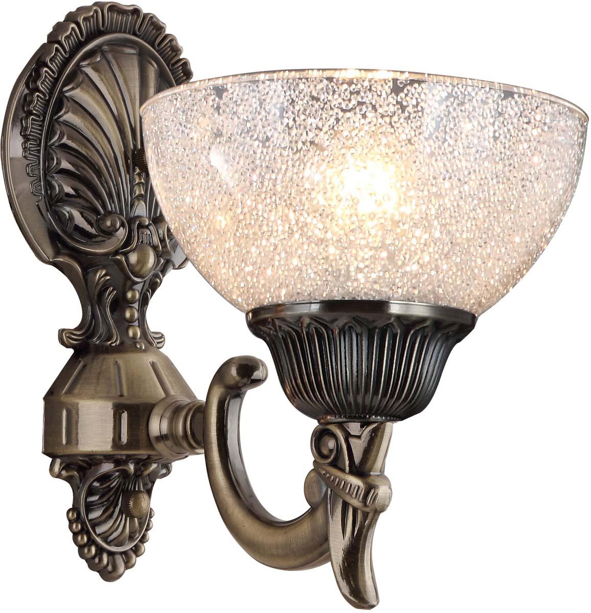 Бра Arte Lamp Fedelta, цвет: бронза, 1 х E27, 60 W. A5861AP-1ABA5861AP-1AB