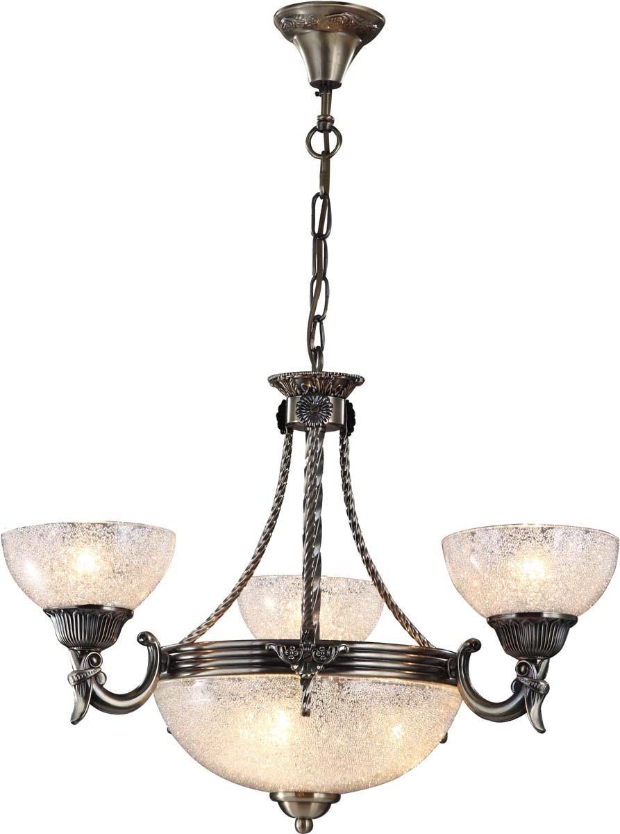 Светильник подвесной Arte Lamp Fedelta, цвет: бронза, 6 х E27, 60 W. A5861LM-3-3ABA5861LM-3-3AB