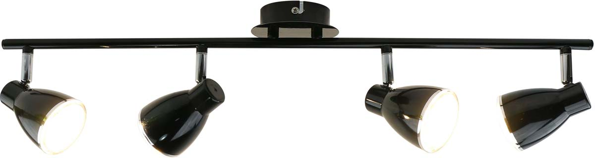 Светильник потолочный Arte Lamp Gioved, цвет: черный, 4 х LED, 5 W. A6008PL-4BK