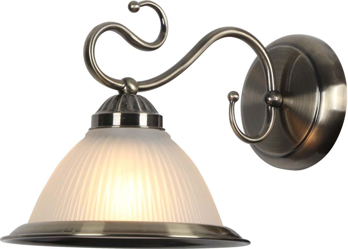 Бра Arte Lamp Costanza, 1 х E27, 60 W. A6276AP-1AB nordic wrought iron simple modern pendant lamp with led bulb dinning room light cafe lamp e27 110v 220v free shipping
