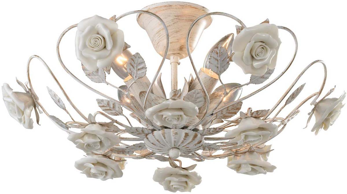 Светильник потолочный Arte Lamp Rosita, 4 х E14, 40 W. A6358PL-4WGA6358PL-4WG