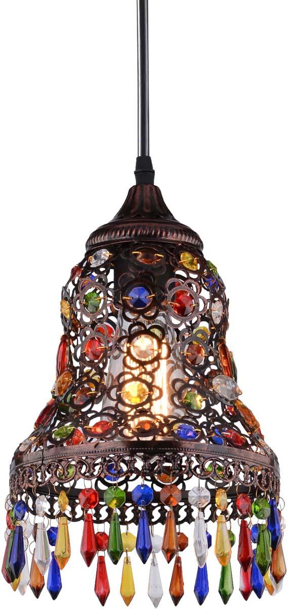 Светильник подвесной Arte Lamp Maharaja, 1 х E27, 40 W. A7079SP-1CKA7079SP-1CK