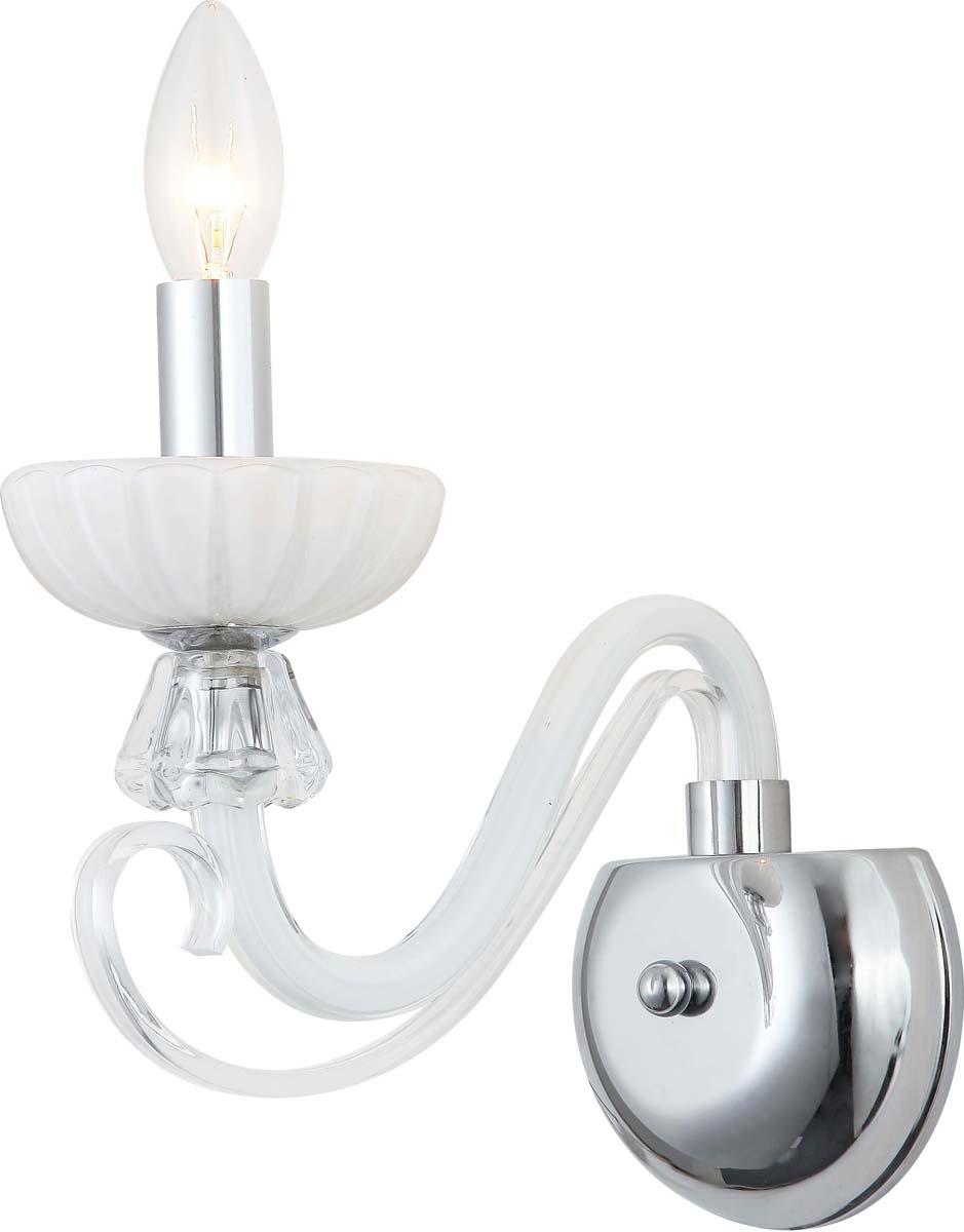 Бра Arte Lamp Odetta, 1 х E14, 40 W. A7195AP-1WHA7195AP-1WH