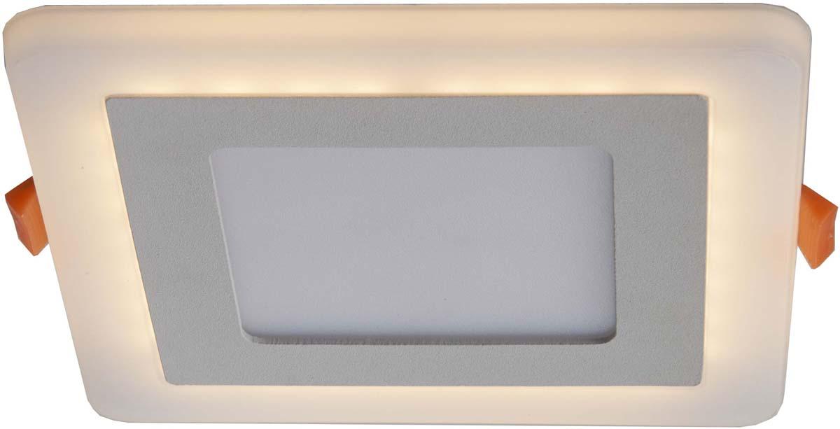 Светильник встраиваемый Arte Lamp Vega, 2 х LED, 3 W. A7506PL-2WH встраиваемый спот точечный светильник arte lamp vega a7509pl 2wh