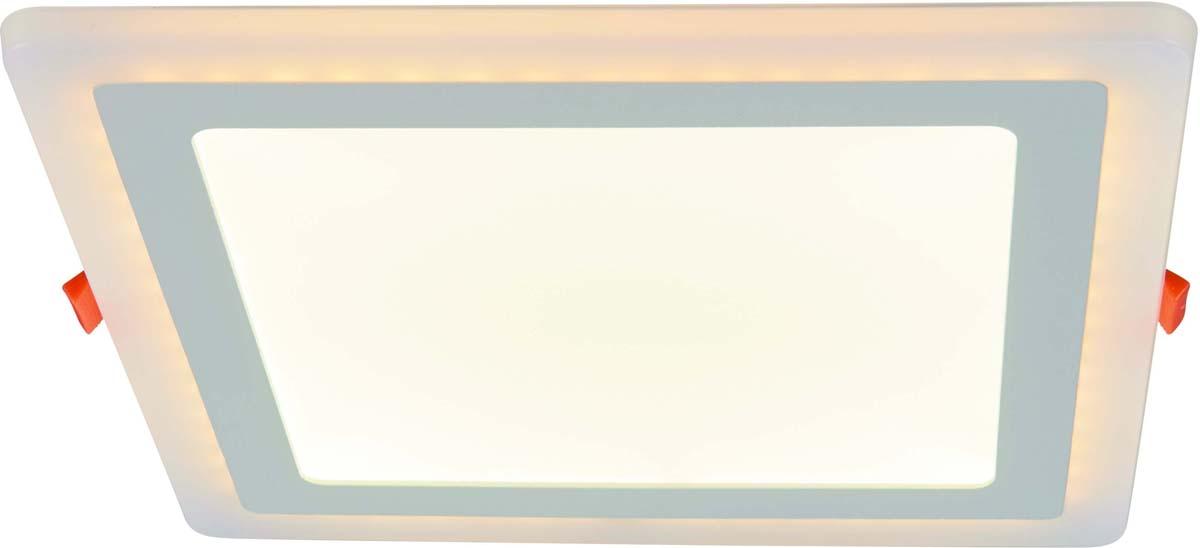 Светильник встраиваемый Arte Lamp Vega, 2 х LED, 18 W. A7524PL-2WH встраиваемый спот точечный светильник arte lamp vega a7509pl 2wh