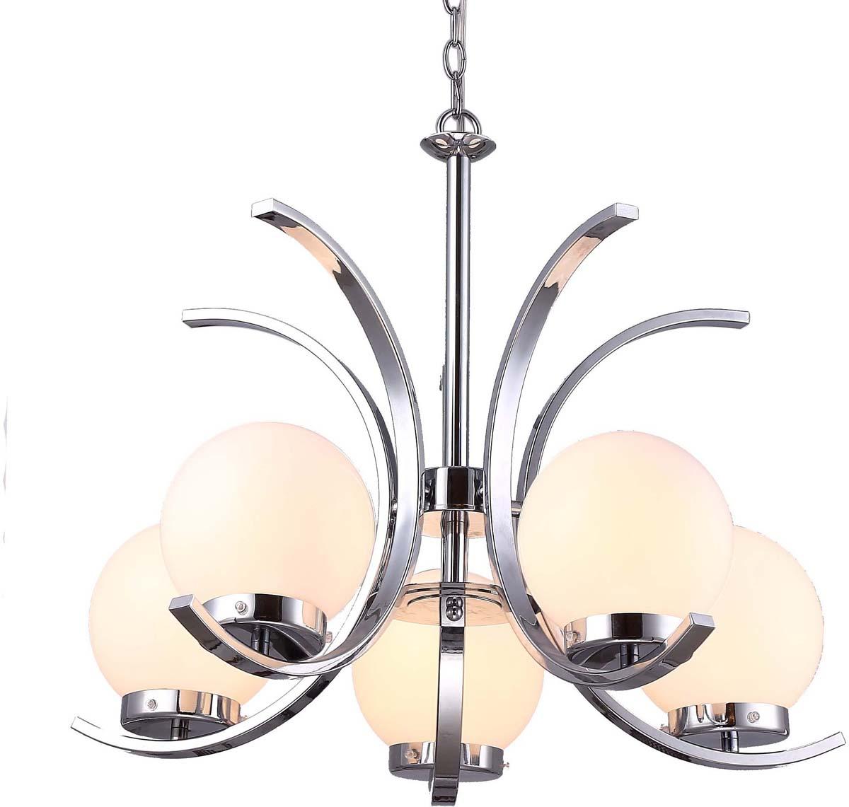 Светильник подвесной Arte Lamp Claudia, 5 х E14, 40 W. A8055LM-5CCA8055LM-5CC
