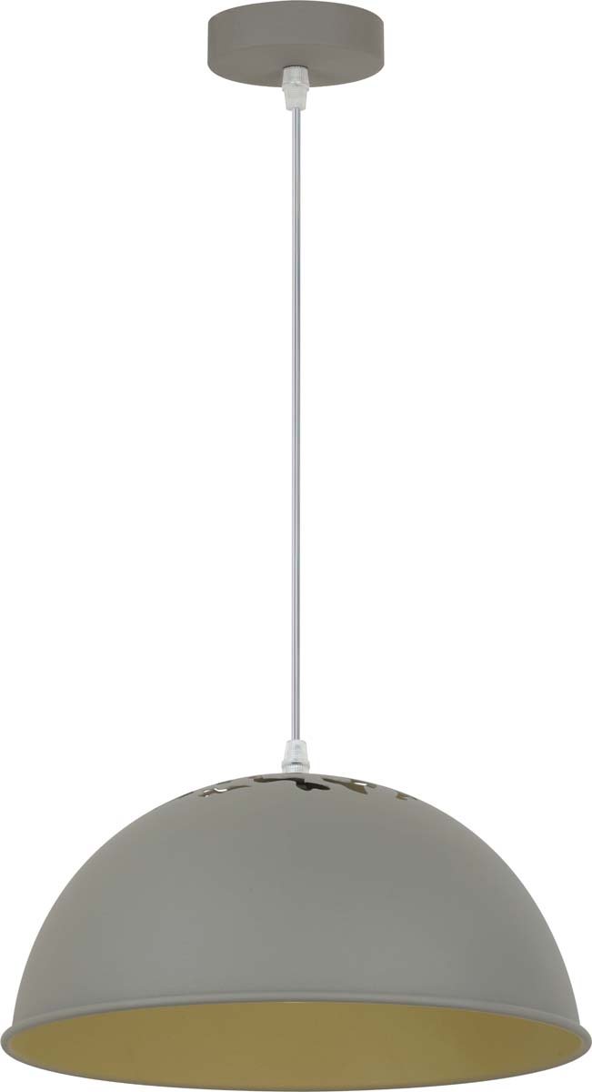 Светильник подвесной Arte Lamp Buratto, цвет: серый, 1 х E27, 60 W. A8173SP-1GY arte lamp a8173sp 1wh