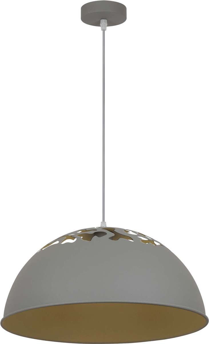 Светильник подвесной Arte Lamp Buratto, цвет: серый, 1 х E27, 60 W. A8174SP-1GYA8174SP-1GY