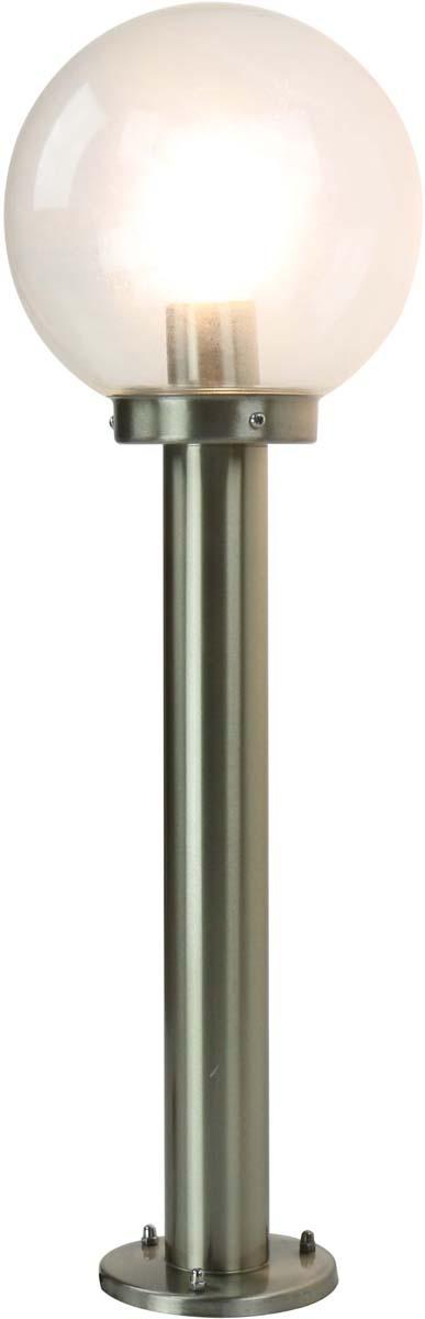 Светильник уличный Arte Lamp Gazebo, 1 х E27, 60 W. A8366PA-1SS люстра потолочная st luce onde 3 х e27 60w sl116 502 03