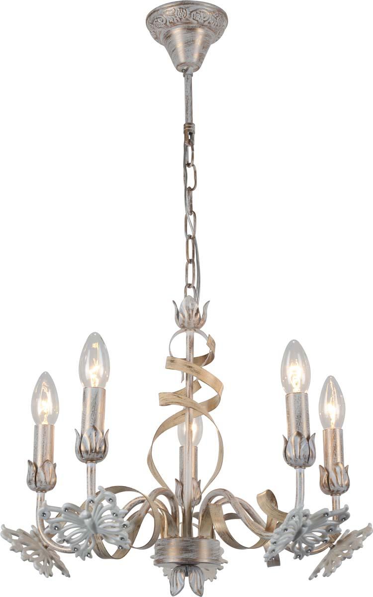 Светильник подвесной Arte Lamp Libellula, 5 х E14, 40 W. A8626LM-5WGA8626LM-5WG