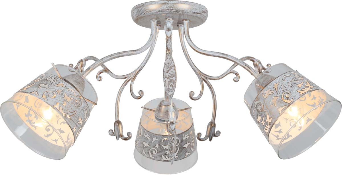 Светильник потолочный Arte Lamp Calice, 3 х E14, 40 W. A9081PL-3WG