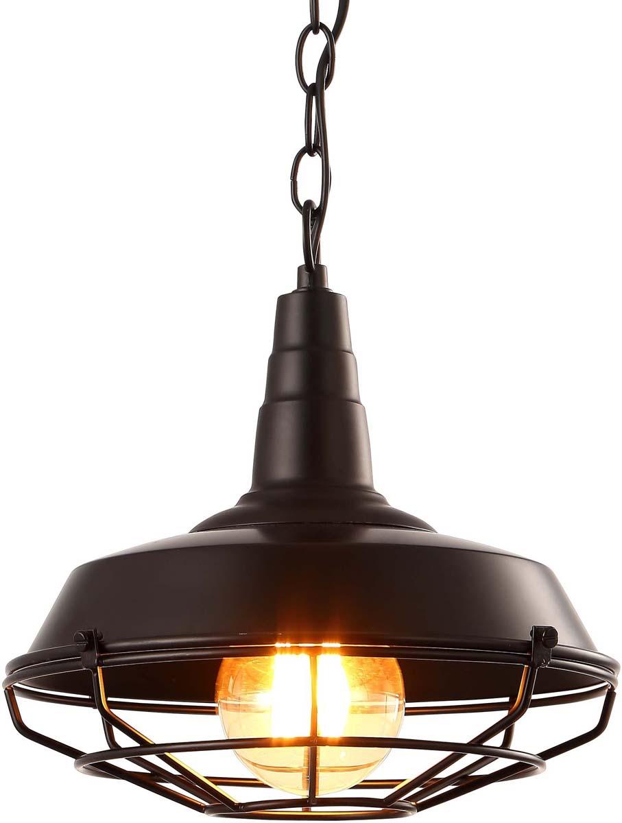 Светильник подвесной Arte Lamp Pandora, цвет: черный, 1 х E27, 60 W. A9181SP-1BKA9181SP-1BK