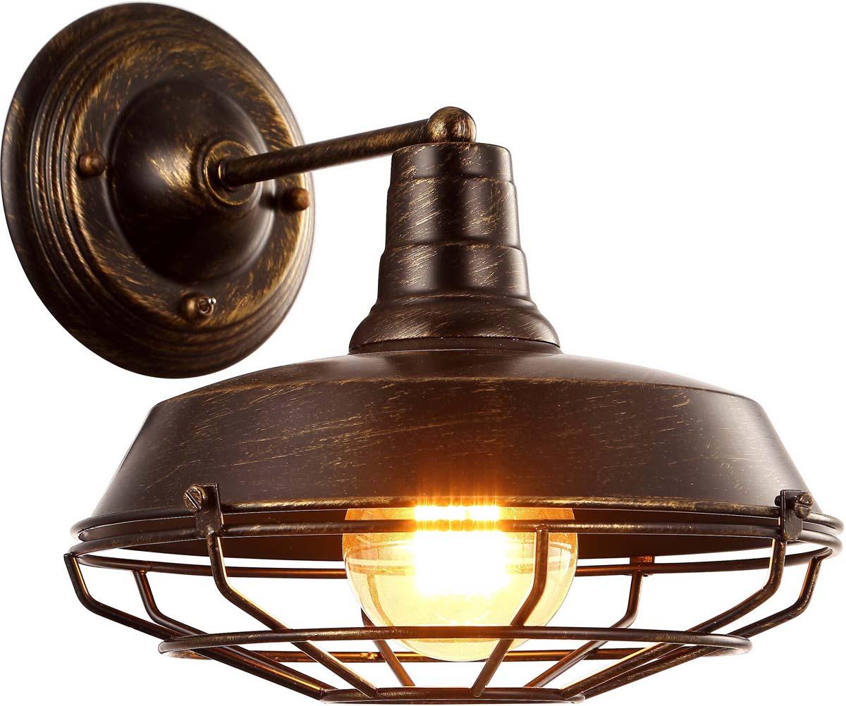 Бра Arte Lamp Pandora, цвет: бежевый, 1 х E27, 40 W. A9183AP-1BR