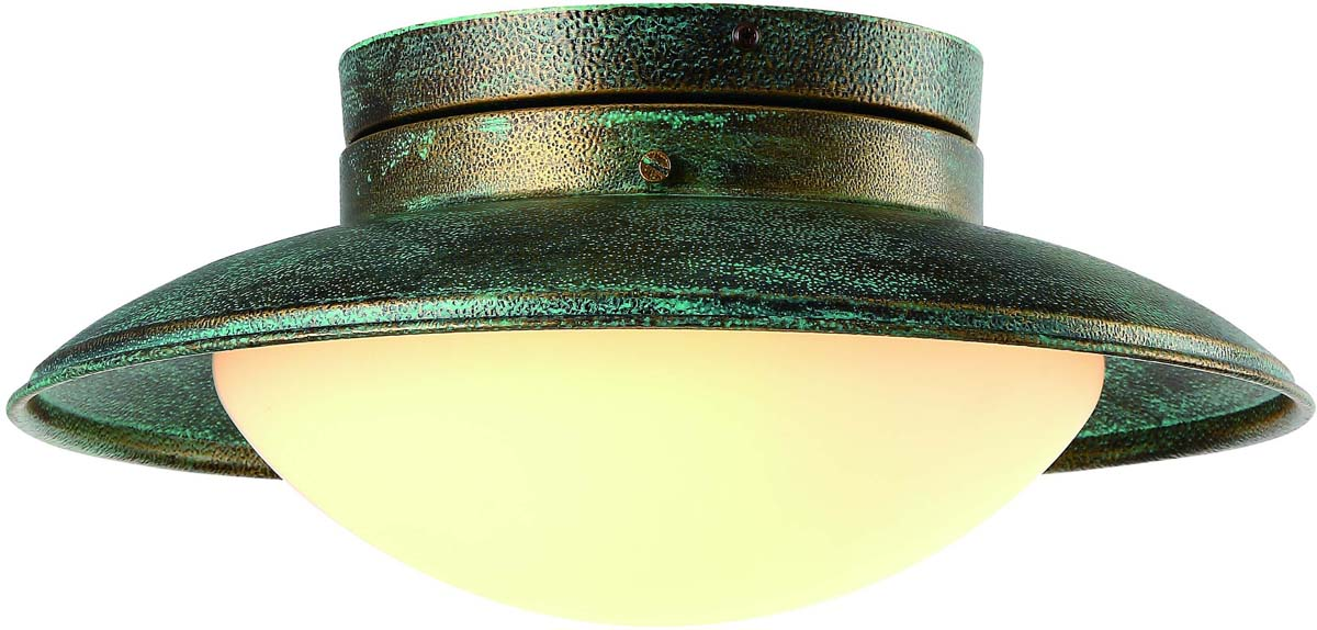 Светильник потолочный Arte Lamp Ferrico, 1 х E27, 60 W. A9256PL-1BG
