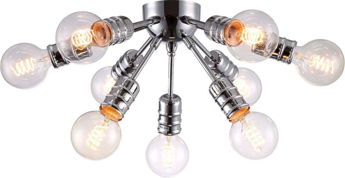Светильник потолочный Arte Lamp Fuoco, 9 х E27, 60 W. A9265PL-9CC