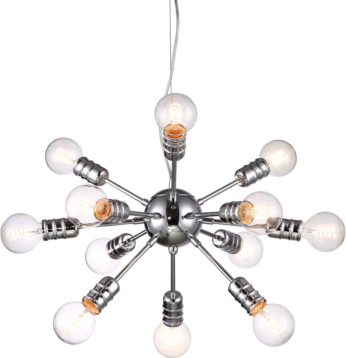 Светильник подвесной Arte Lamp Fuoco, 12 х E27, 60 W. A9265SP-12CCA9265SP-12CC