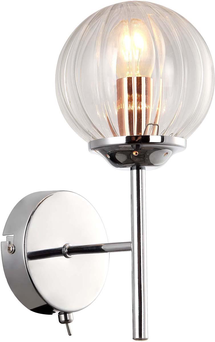Бра Arte Lamp Arancia, 1 х E14, 40 W. A9276AP-1CC люстра на штанге arte lamp arancia a9276lm 8cc