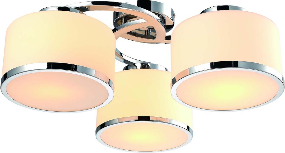 Светильник потолочный Arte Lamp Manhattan, 3 х E27, 40 W. A9495PL-3CC светильник потолочный sonex blanketa gold 2 х e27 60w 102 k