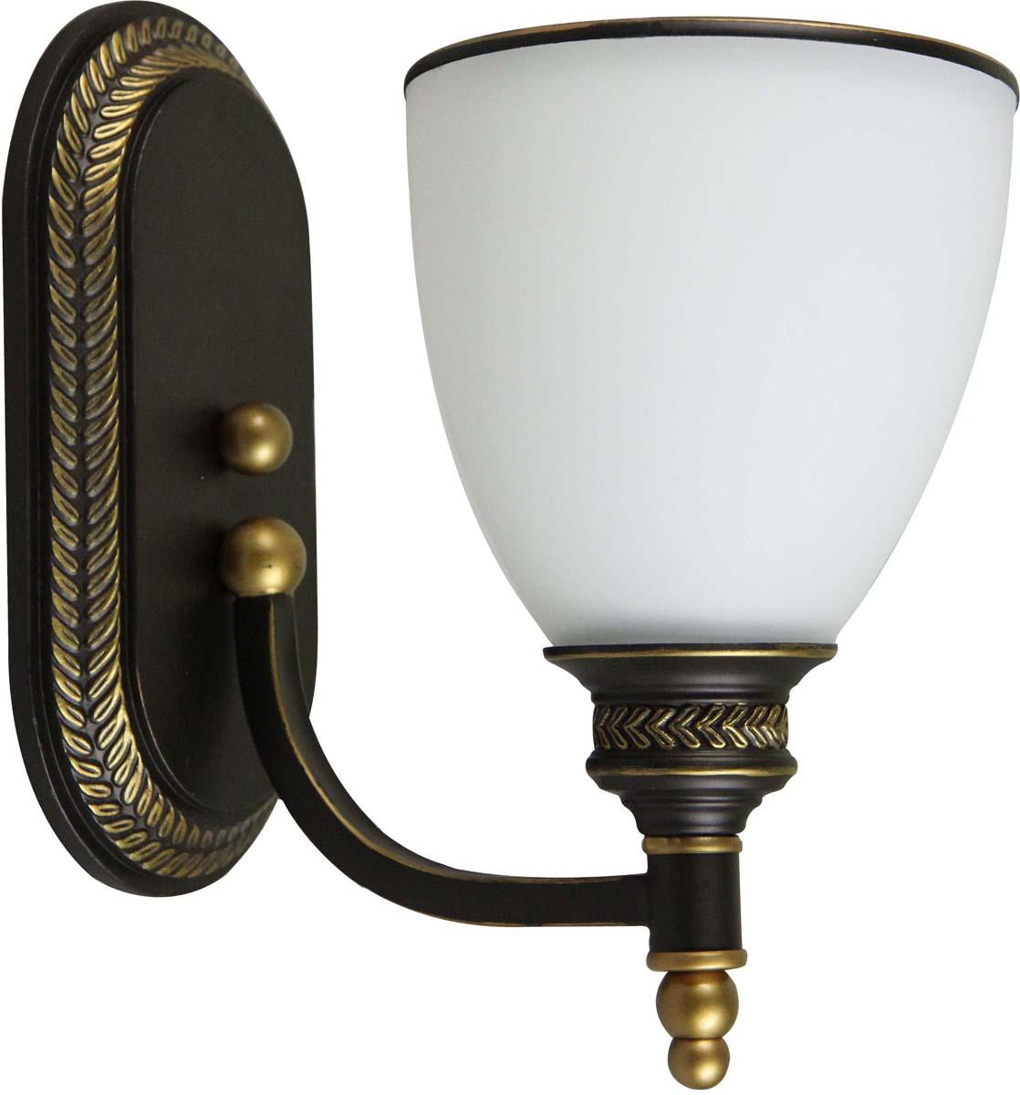 Светильник настенный Arte Lamp Bonito, 1 х E27, 40 W. A9518AP-1BA arte lamp подвесной светильник arte lamp bonito a9518sp 3ba