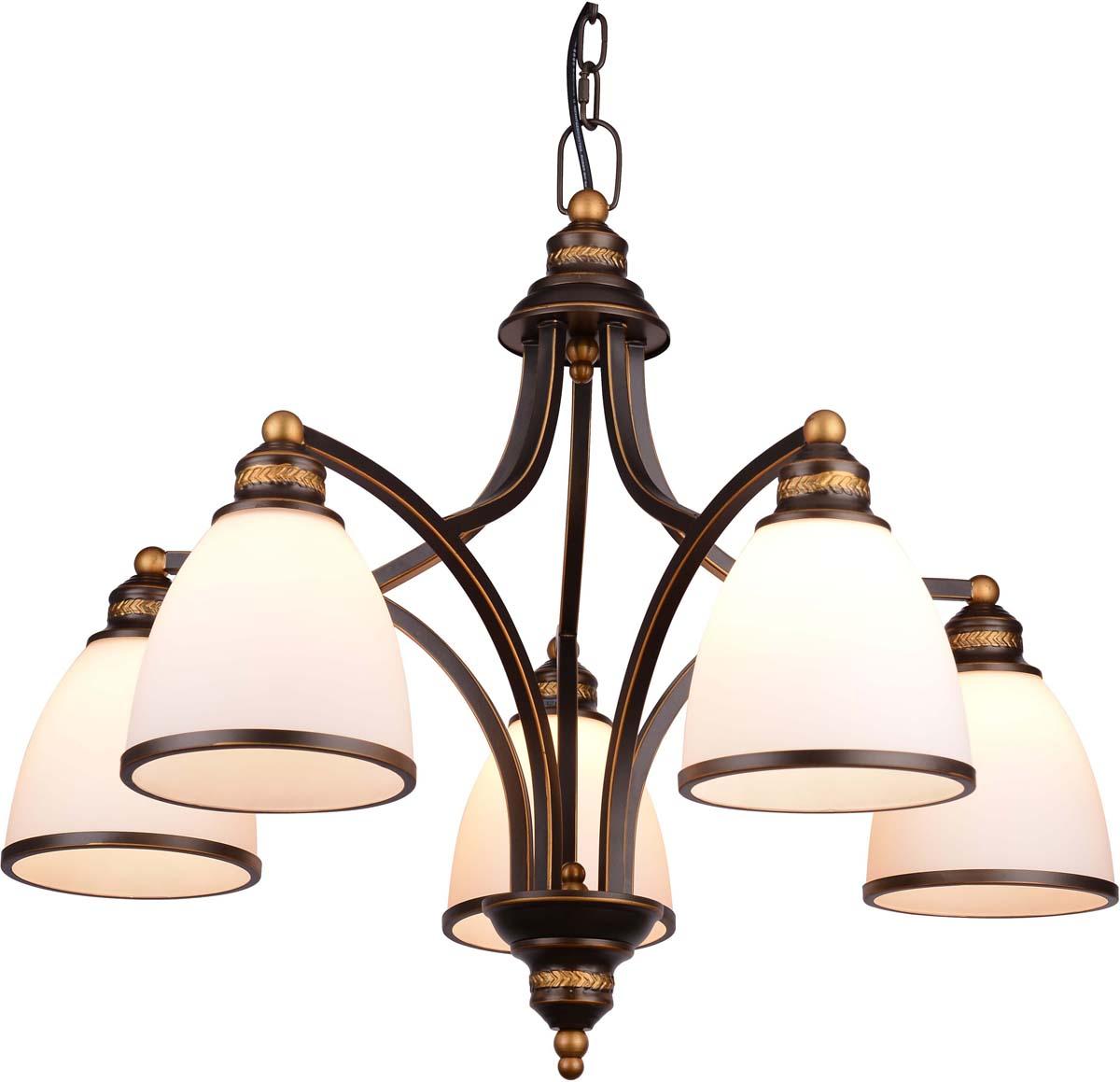 Светильник подвесной Arte Lamp Bonito, 5 х E27, 40 W. A9518LM-5BA arte lamp подвесной светильник arte lamp bonito a9518sp 3ba