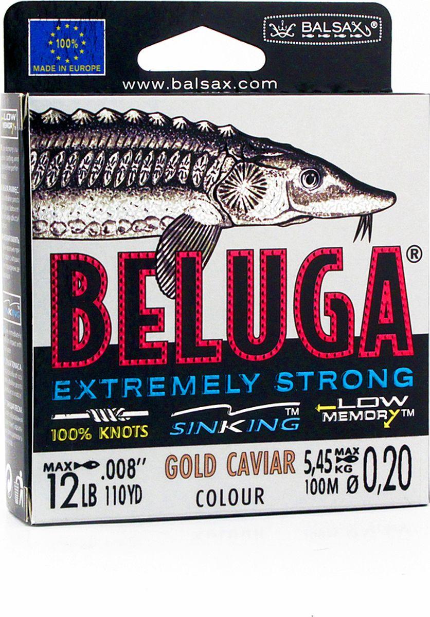 Леска Balsax Beluga, 100 м, 0,20 мм, 5,45 кг