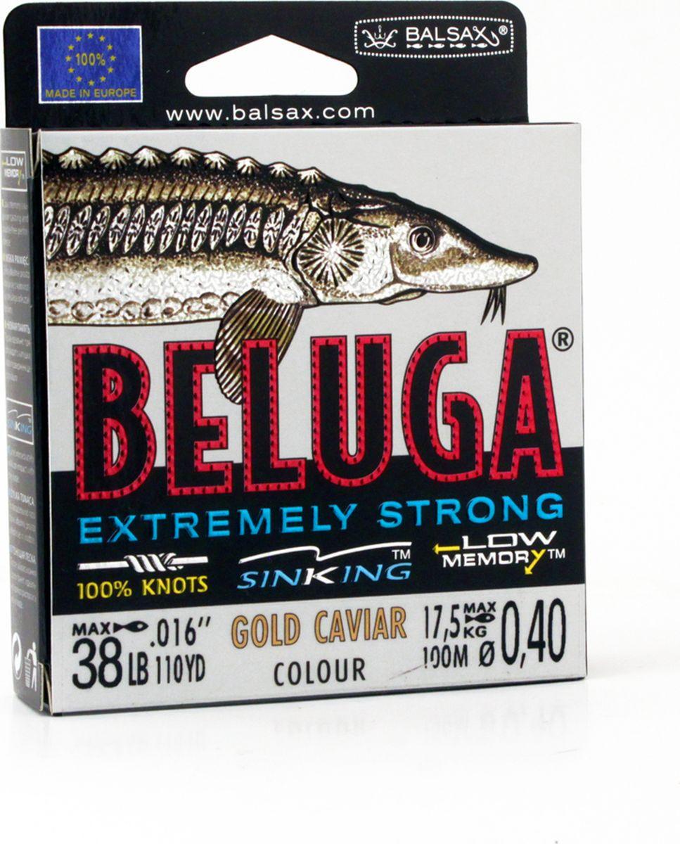 Леска Balsax Beluga, 100 м, 0,40 мм, 17,5 кг