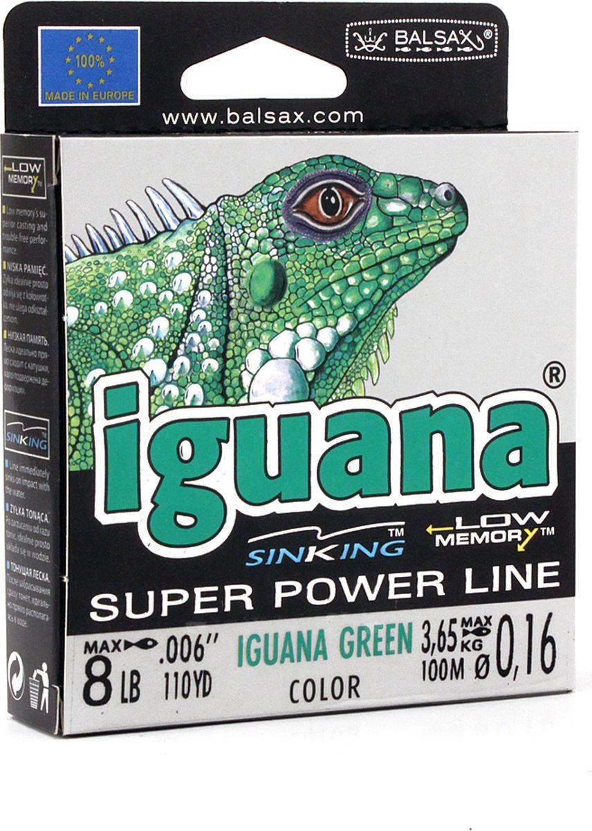 Леска Balsax Iguana, 100 м, 0,16 мм, 3,65 кг