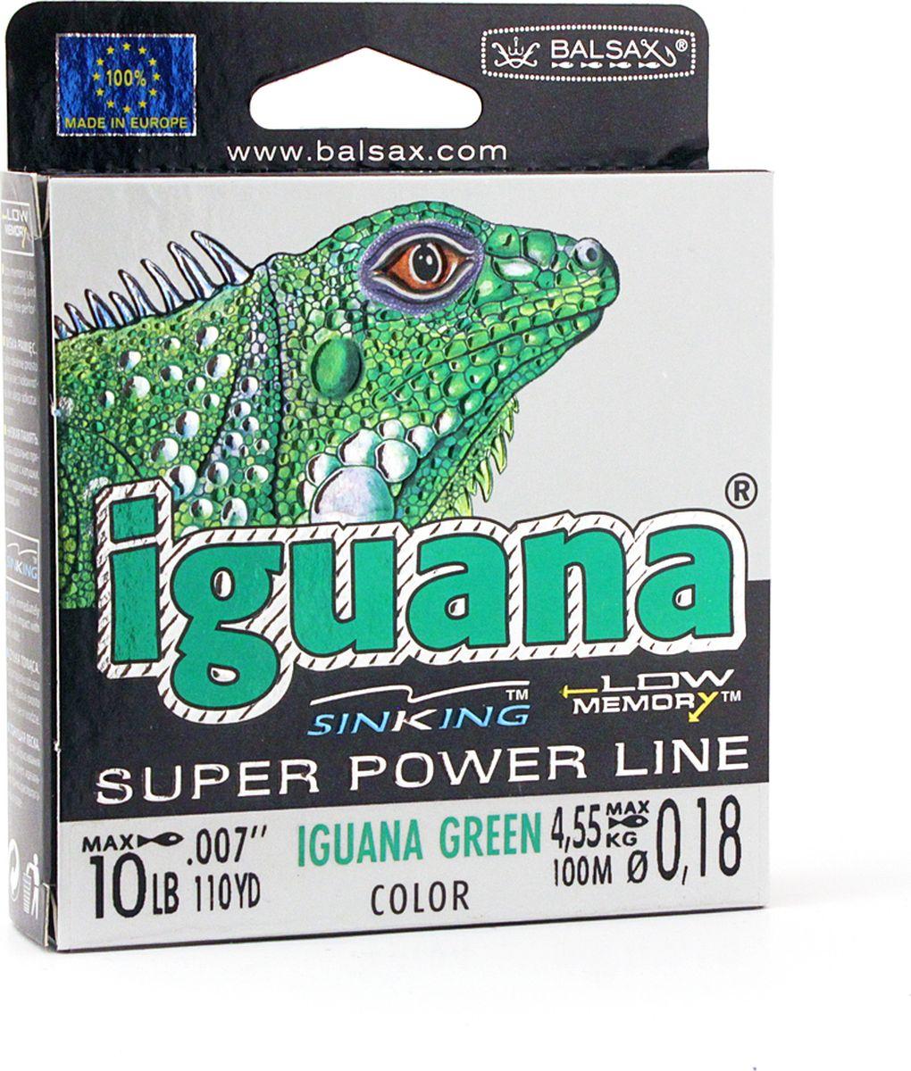 Леска Balsax Iguana, 100 м, 0,18 мм, 4,55 кг
