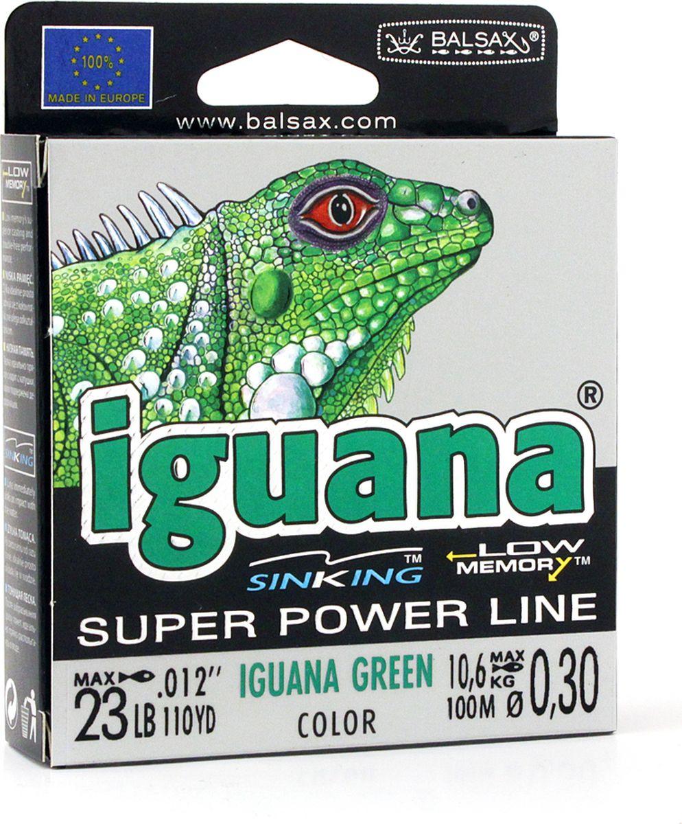 Леска Balsax Iguana, 100 м, 0,30 мм, 10,6 кг
