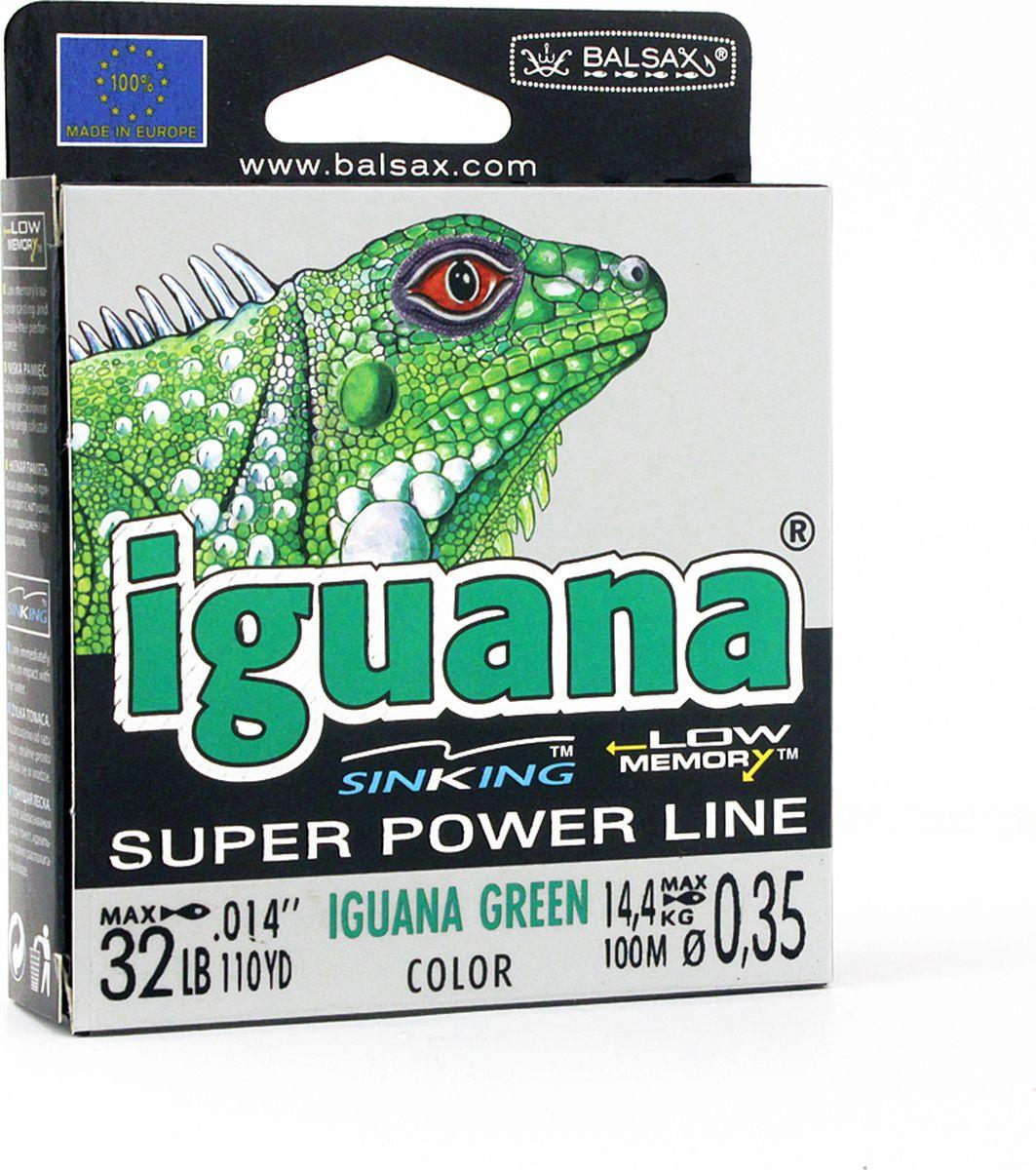 Леска Balsax Iguana, 100 м, 0,35 мм, 14,4 кг