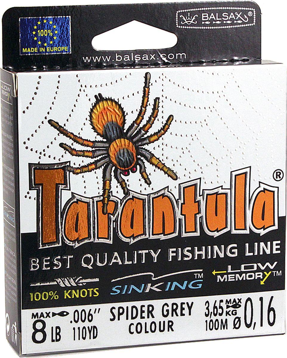 Леска Balsax Tarantula, 100 м, 0,16 мм, 3,65 кг
