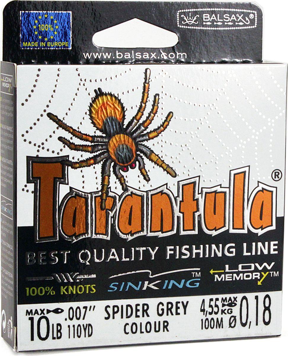 Леска Balsax Tarantula, 100 м, 0,18 мм, 4,55 кг