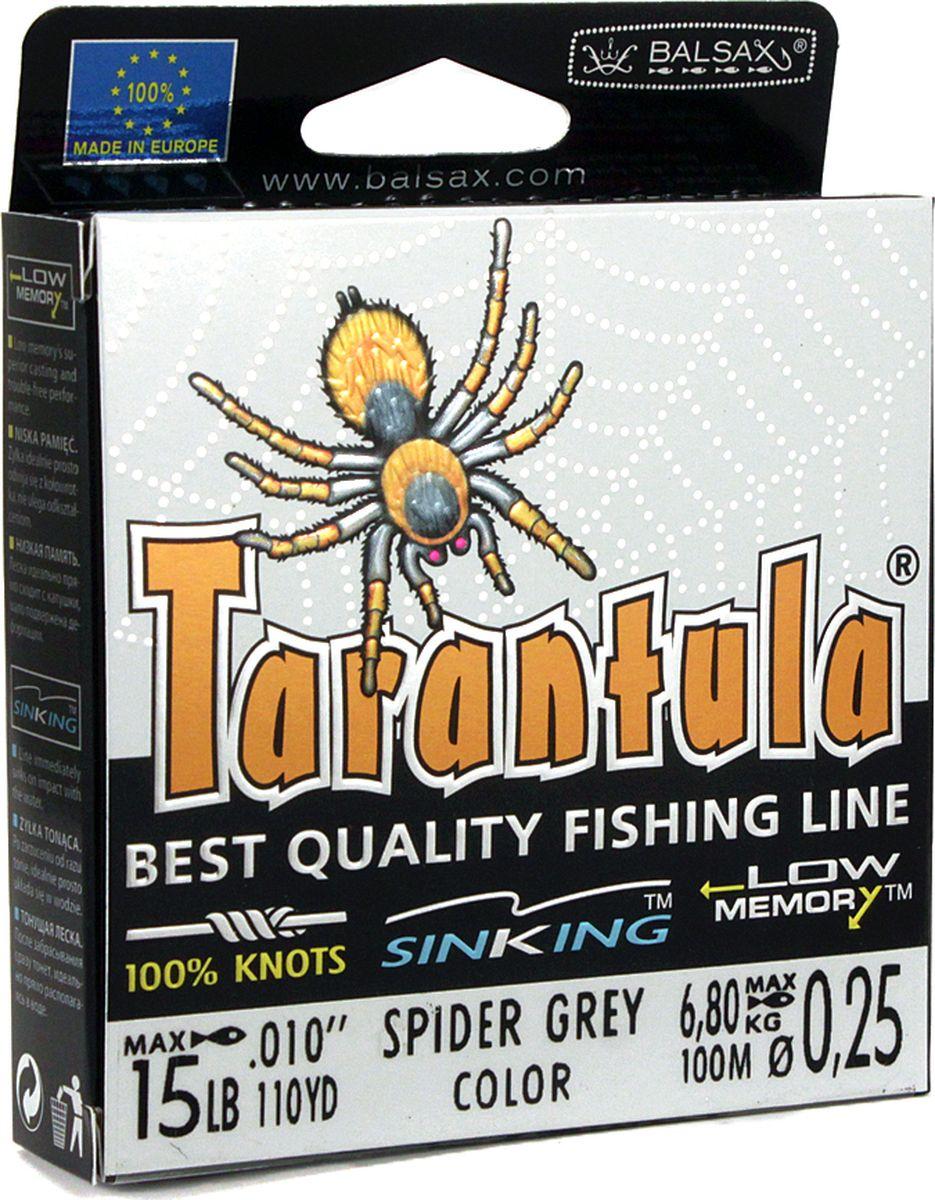 Леска Balsax Tarantula, 100 м, 0,25 мм, 6,8 кг