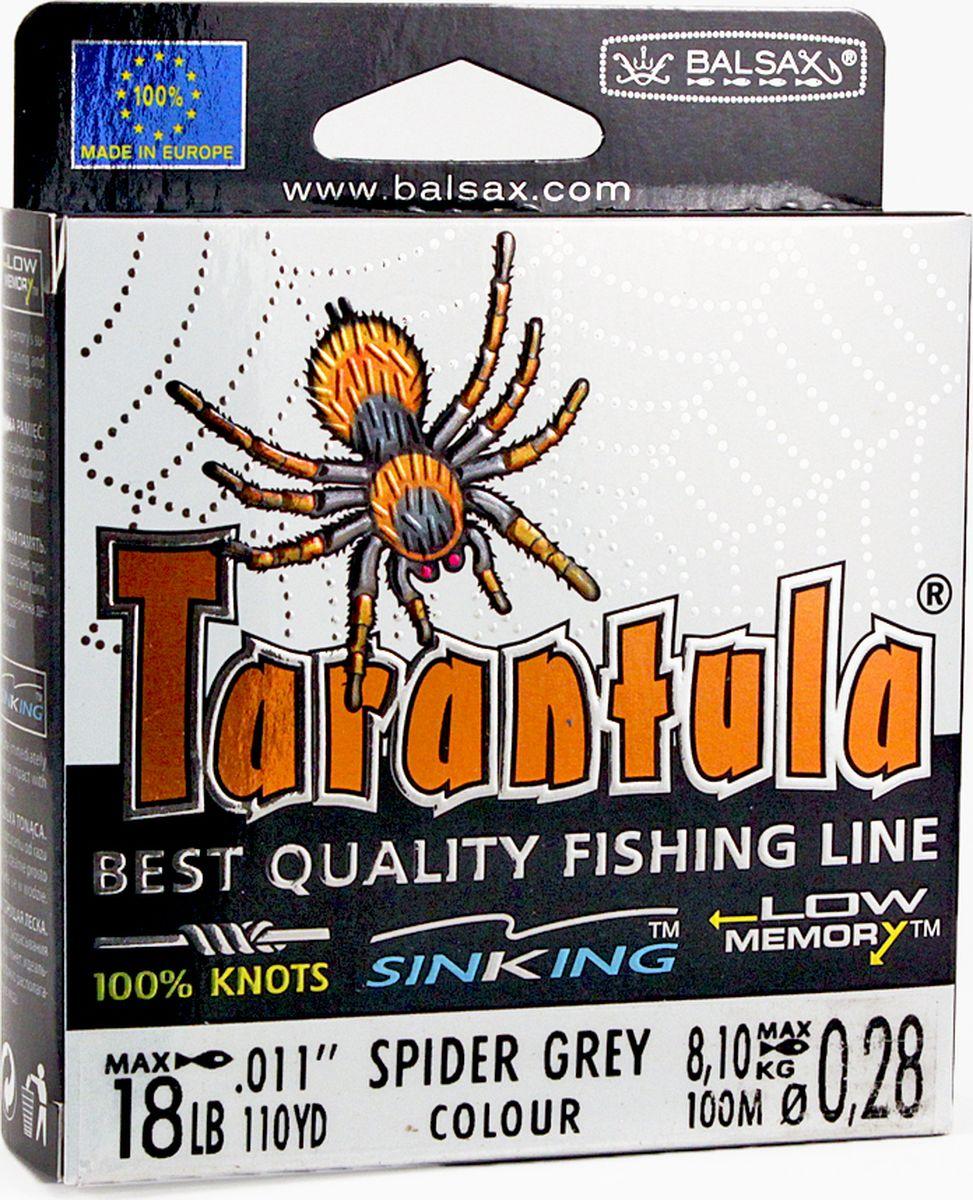 Леска Balsax Tarantula, 100 м, 0,28 мм, 8,1 кг