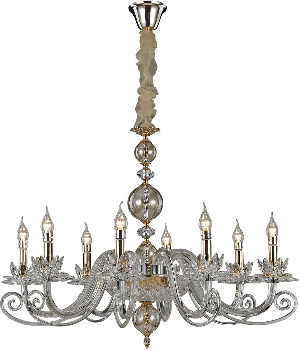 Светильник подвесной Divinare Firenze, 8 х E14, 40 W. 8820/09 LM-88820/09 LM-8