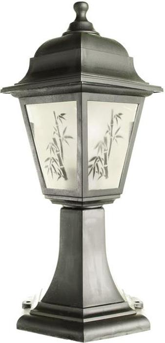 Светильник уличный Arte Lamp Zagreb, 1 х E27, 60 W. A1113FN-1BK светильник потолочный sonex blanketa gold 2 х e27 60w 102 k