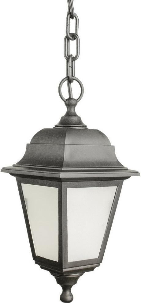 Светильник уличный Arte Lamp Zagreb, 1 х E27, 60 W. A1114SO-1BK