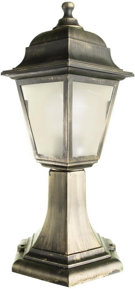 Светильник уличный Arte Lamp Zagreb, 1 х E27, 60 W. A1117FN-1BR