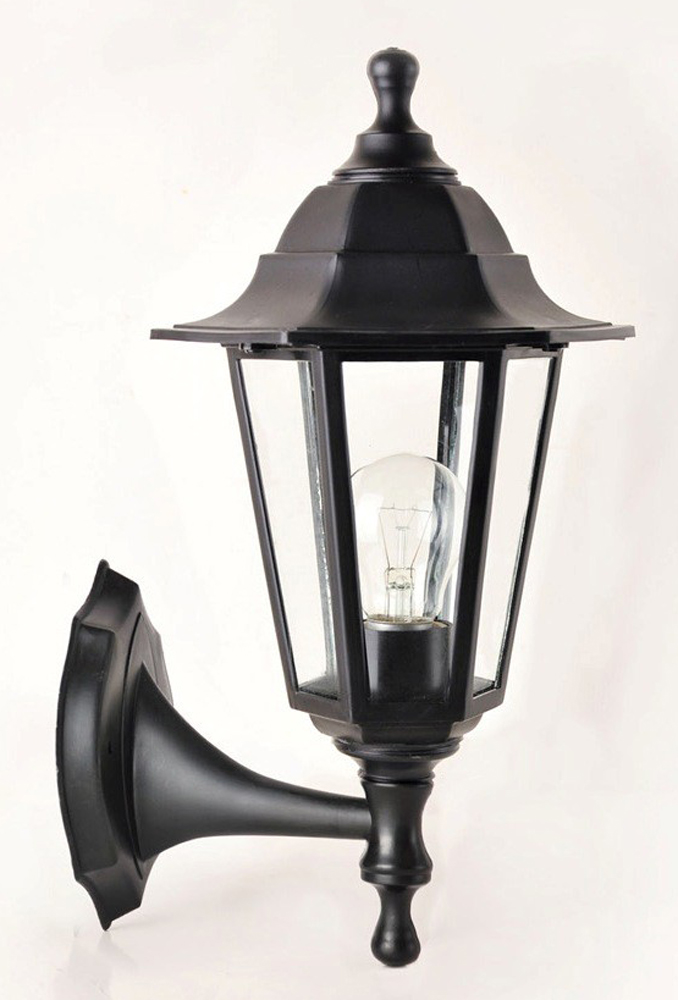 Светильник уличный Arte Lamp Belgrade, 1 х E27, 60 W. A1211AL-1BK