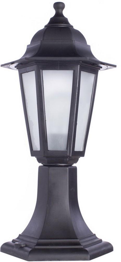 Светильник уличный Arte Lamp Zagreb, 1 х E27, 60 W. A1216FN-1BK светильник потолочный sonex blanketa gold 2 х e27 60w 102 k