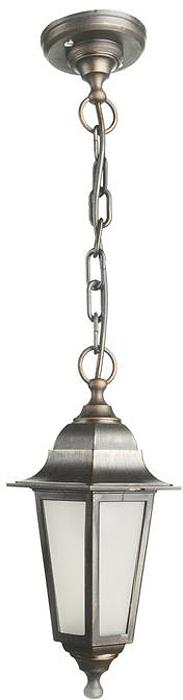 Светильник уличный Arte Lamp Zagreb, 1 х E27, 60 W. A1216SO-1BK светильник потолочный sonex blanketa gold 2 х e27 60w 102 k
