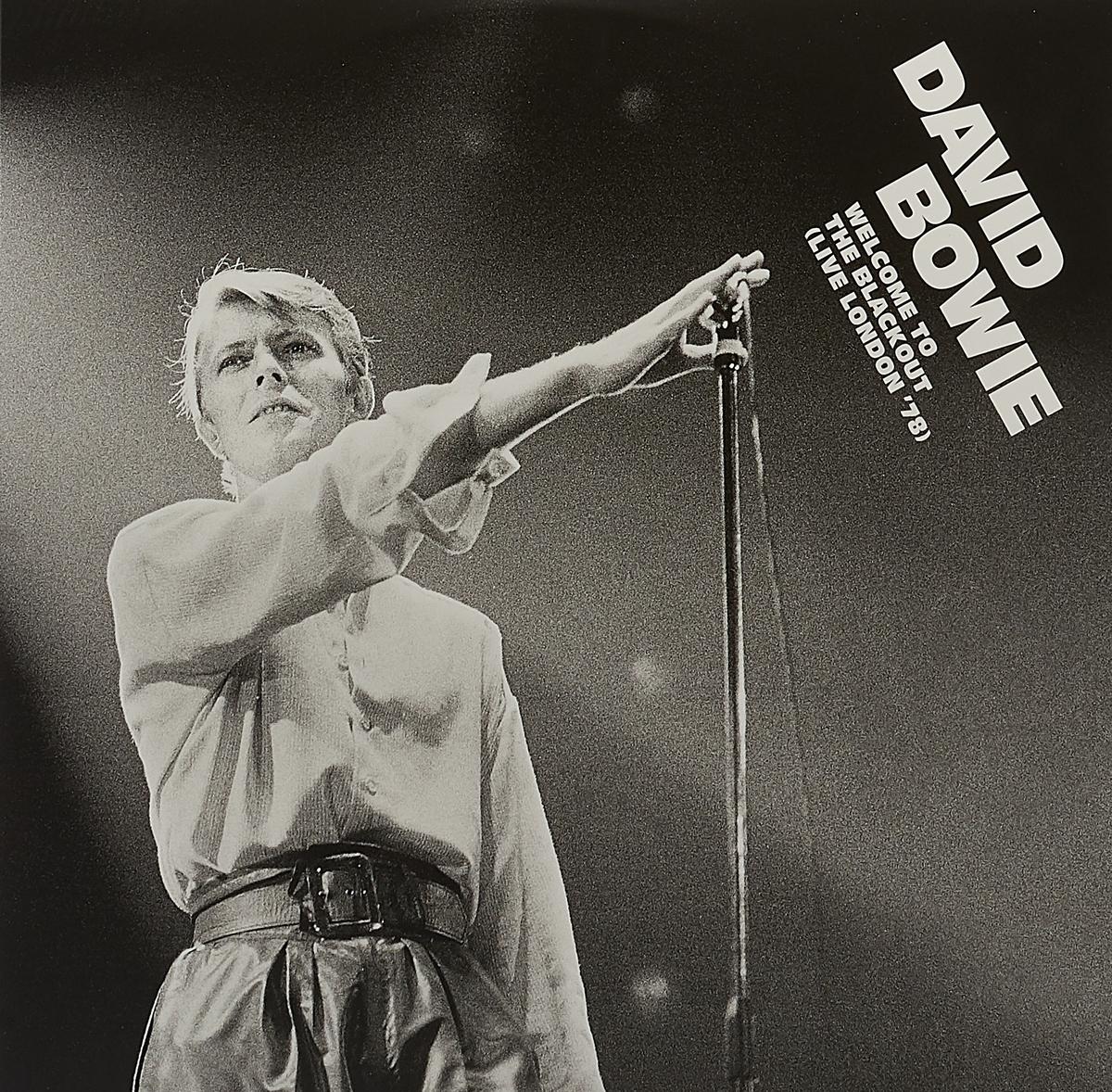 Дэвид Боуи David Bowie. Welcome To The Blackout (Live London '78) (3 LP) david bowie pinups lp