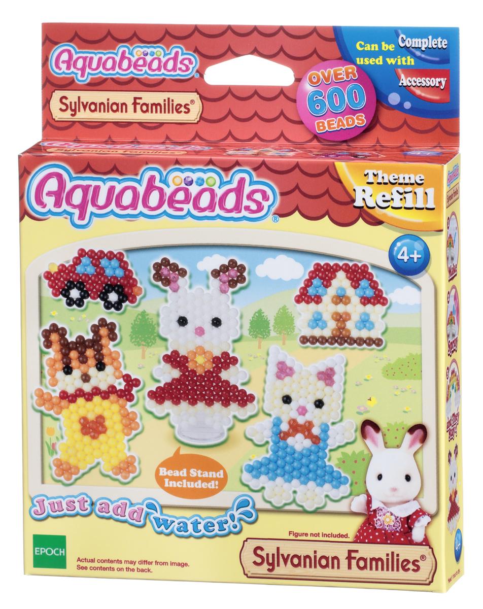 Aquabeads Набор для изготовления игрушек Персонажи Sylvanian Families набор для творчества aquabeads аксессуар гребешок 31198