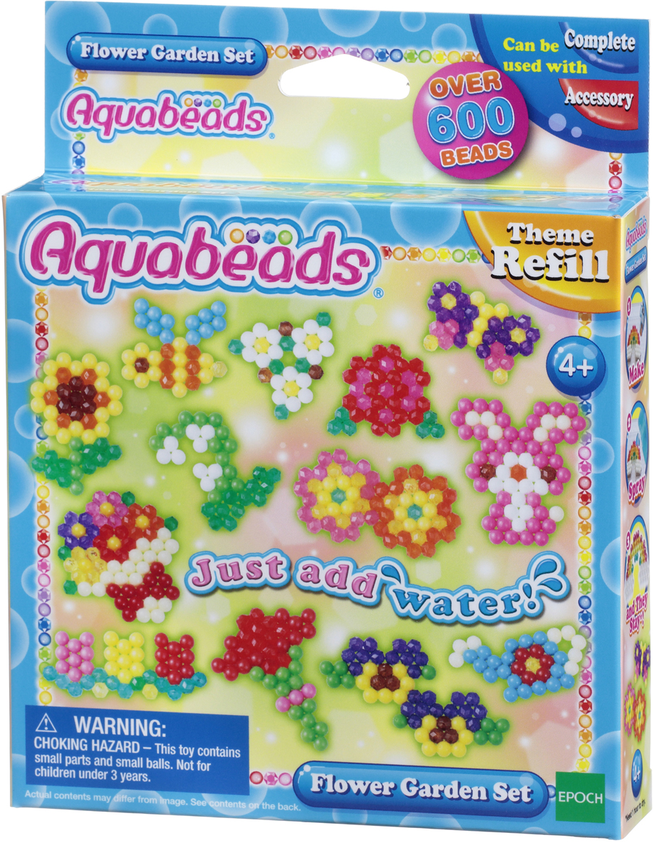 Aquabeads Набор для изготовления игрушек Цветочный сад набор для творчества aquabeads аксессуар гребешок 31198
