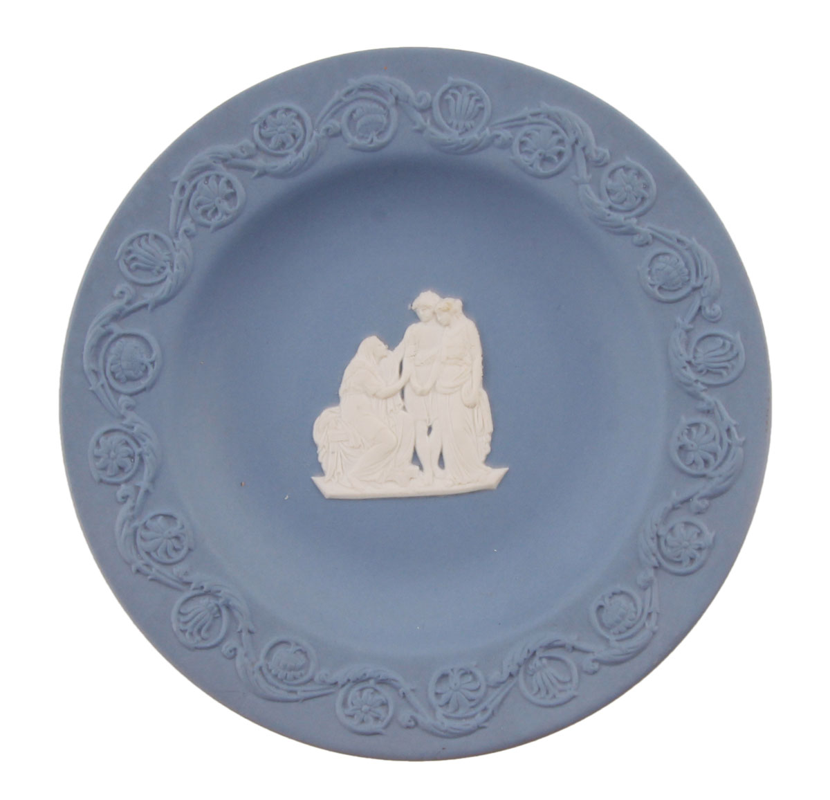 Wedgwood! Блюдце Античная сценка. Фарфор бисквит. Wedgwood, Великобритания, вторая половина XX века game of thrones action figure throne figures chair model a song of ice and fire models sword desk decoration present chirstmas