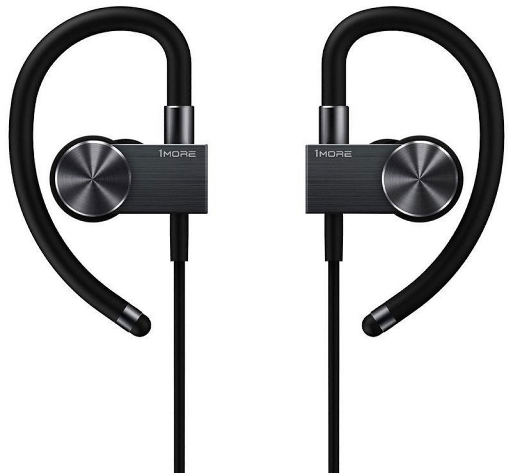 1MORE EB100 Bluetooth, Black беспроводные наушники xiaomi 1more eb100 active bluetooth in ear headphones black