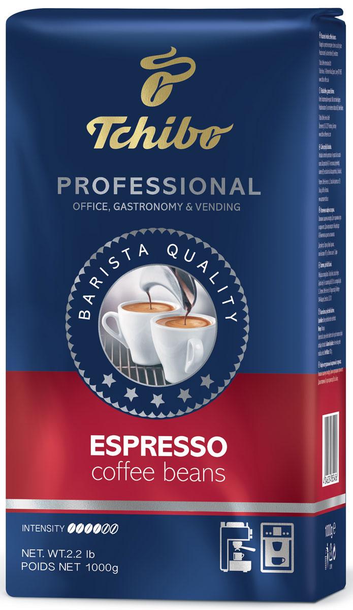 Tchibo Professional Espresso кофе в зернах, 1 кг