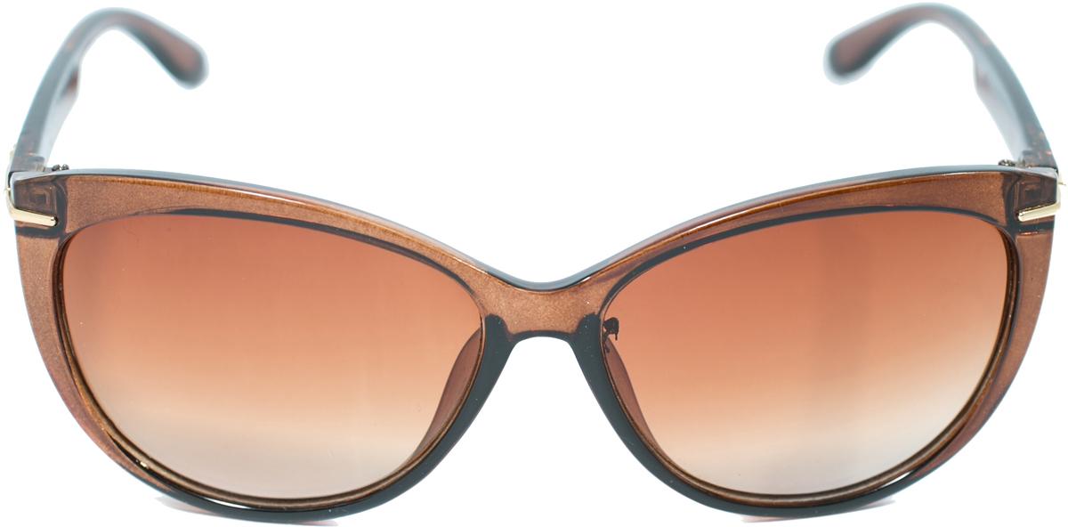Очки солнцезащитные женские Mitya Veselkov, цвет: коричневый. OS2903-066