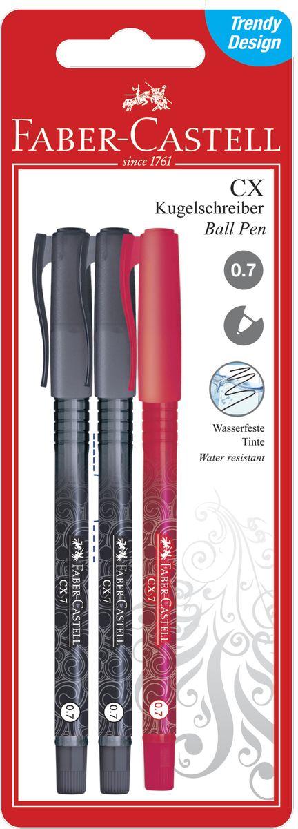 Faber-Castell Набор шариковых ручек CX7 3 шт -  Ручки